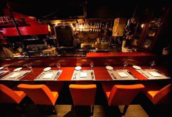 リゾバ レストラン テーブルセット